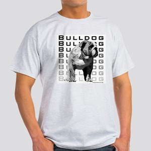 Urban Bulldog Ash Grey T-Shirt